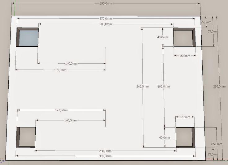 Patricks Holzprojekte: Bohrtisch/Sysport - Teil 2 - Die Auszüge