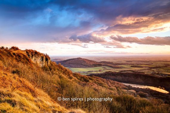 Sutton Bank Sunset  Yorkshire Photography  by BenSpiresPhotography