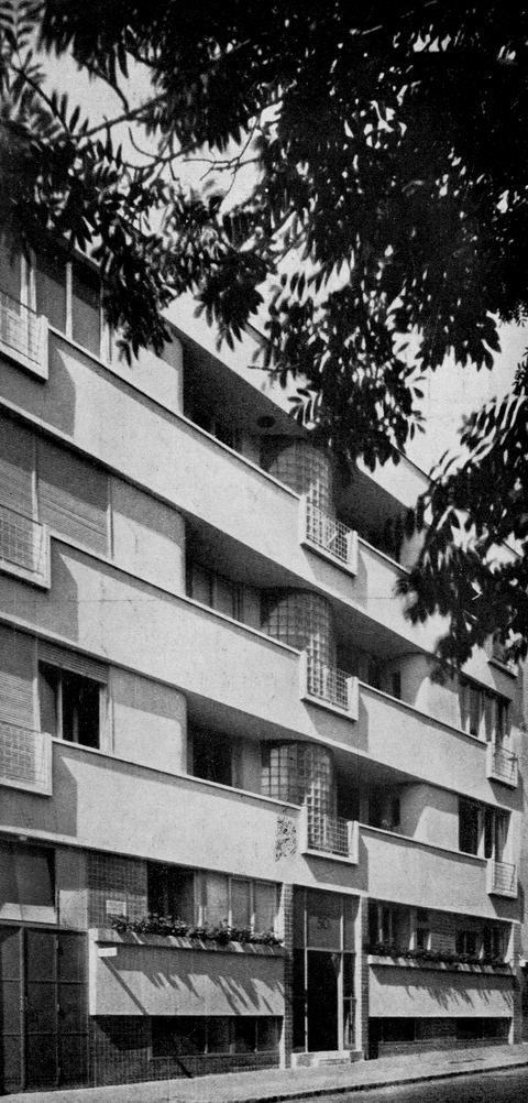 Olgyay Aladár - Olgyay Viktor, Bérház, Budapest, XII. Városmajor utca 50/b, 1941 külső kép