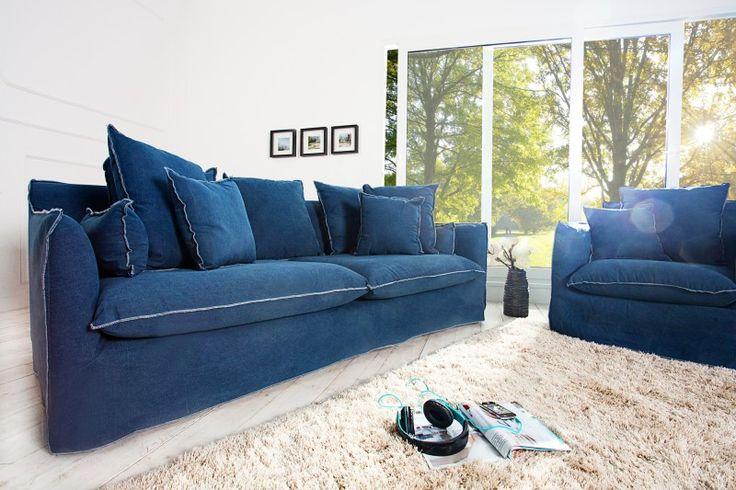 Sedačka TEXAS 3 BLUE