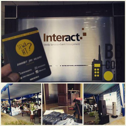 "Jasa Sewa HT / Jasa Rental HT (Handy Talky) Bekasi, Perum Galaxy, Event ""Soft Launching Parking System""  Official Website : www.bbcom.id"