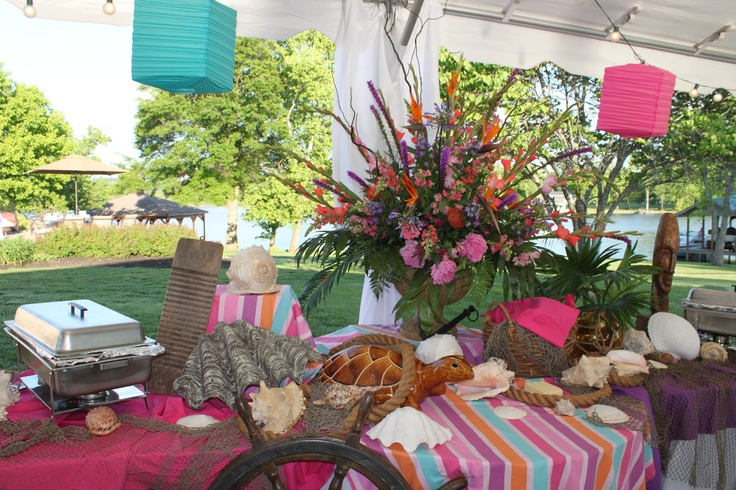 Caribbean Theme Party Ideas On Pinterest: Caribbean Rehearsal Dinner Theme