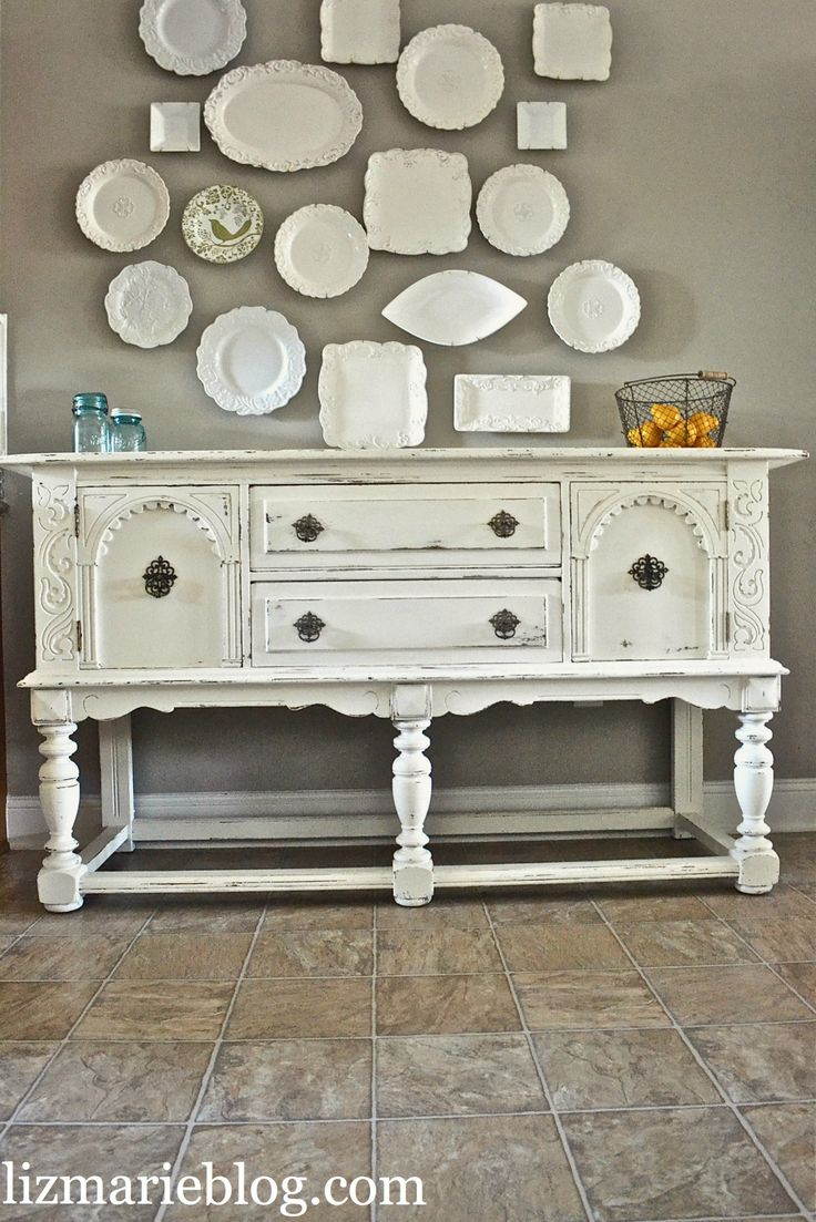 best 25 white buffet ideas on pinterest white buffet table dining room sideboard and dining. Black Bedroom Furniture Sets. Home Design Ideas