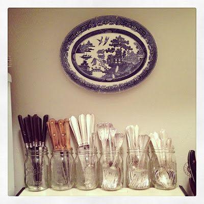 Best 25 silverware storage ideas on pinterest cutlery for Creative silverware storage