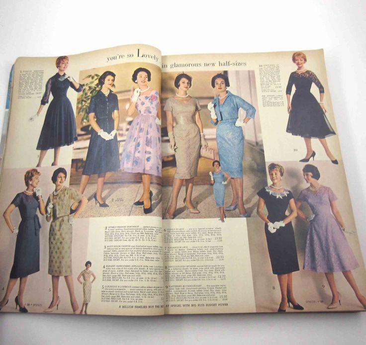 Vintage Spiegel Spring & Summer 1961 Catalog Fashion Lingerie Home Children 3