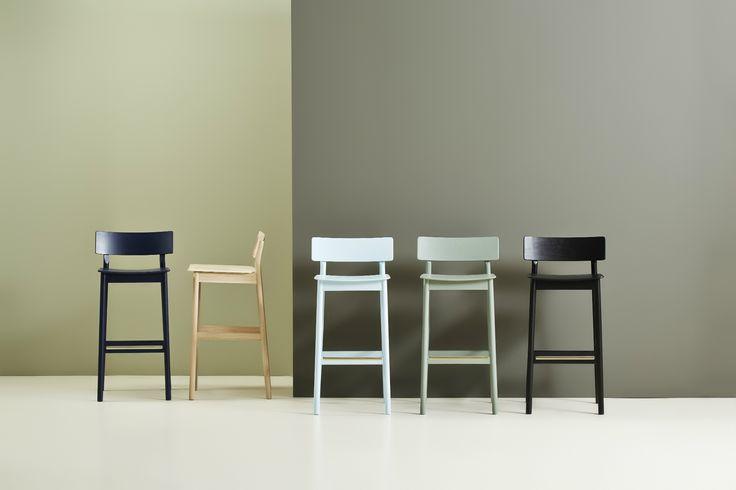 Krzesła barowe Woud Pause