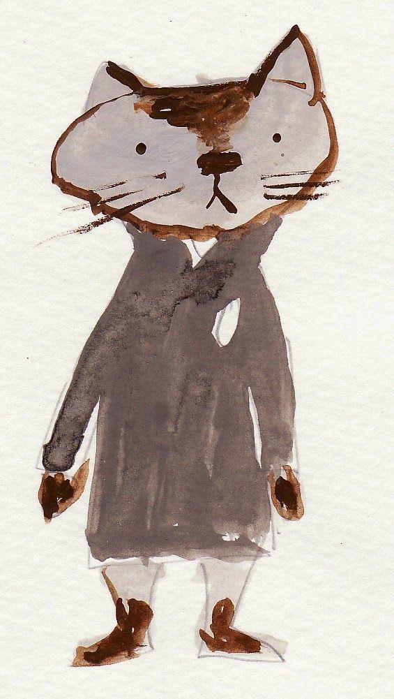 Illustration by Japanese picture book writer Akiko Kato