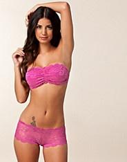 Lace Brazilian Short - Wonderland - Rosa - Truser - Undertøy - NELLY.COM Mote online