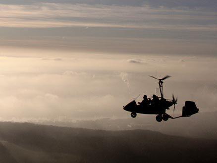 Tragschrauber Rundflug | Fliegen & Fallen