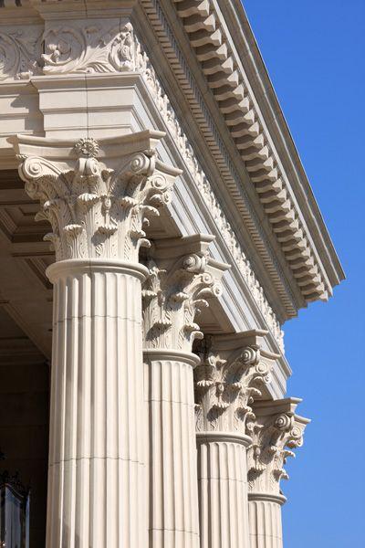 Corinthian Columns Ancient Greek Architecture Ancient