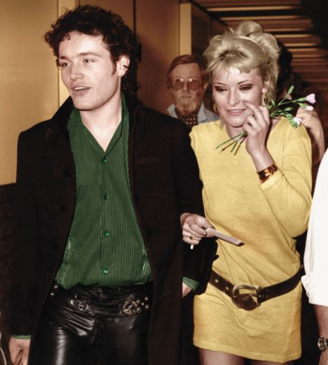 Adam Ant and Amanda Donohoe.
