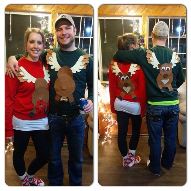 Couples Ugly Sweater