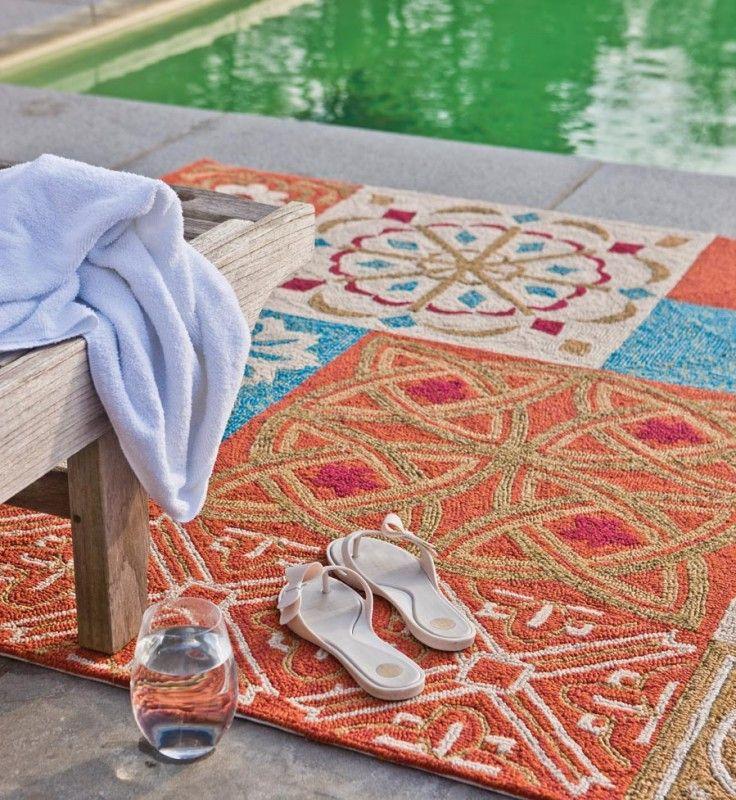 Namada Oranje | Namada Outdoor & Indoor | Tapijten & Huiden