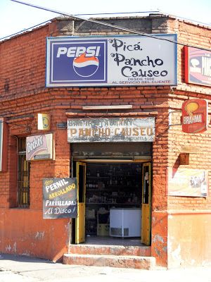 Pancho Causeo Comida Chilena