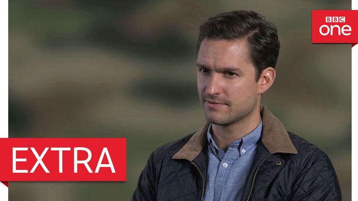 Ben Aldridge explains the leader Captain James - Our Girl: Series 2 - BBC One - YouTube