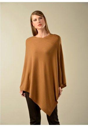 Beryl 100% Vicuna Knitted Poncho
