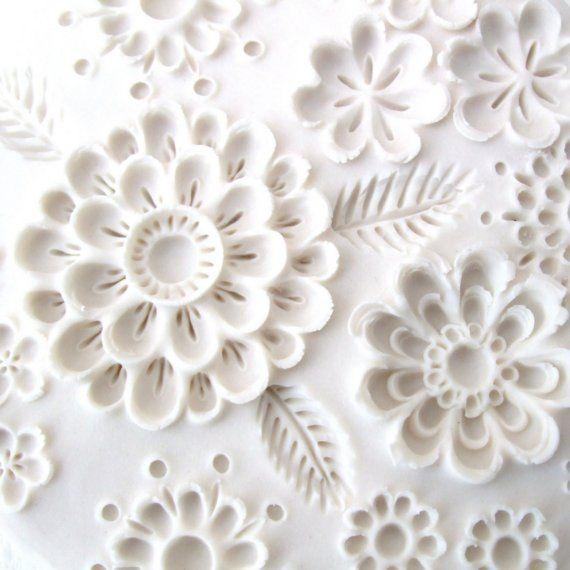 wall sculpture - cold porcelain inspiration