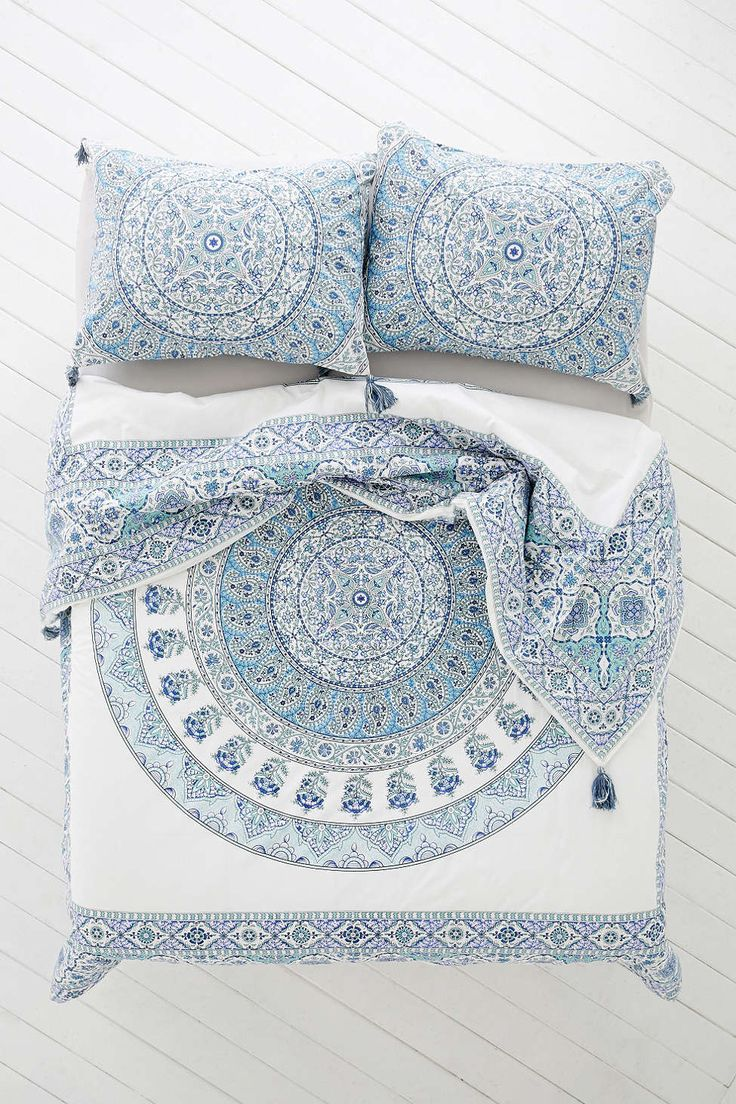I think that this one is one of the better buys. Because of the more muted tones, it give your more options for pillows, quilts, and throws. Plus, the tassles on the corners are the perfet boho touch!