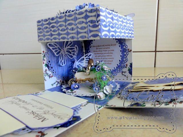 Art-Carta : Ślub na fioletowo - gościnnie w APScraft