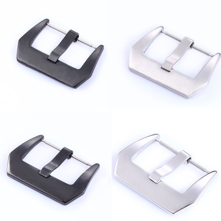 Stainless Steel Watch Buckles 20mm 22mm 24mm Screw-in Buckle Watch Clasp For Panerai