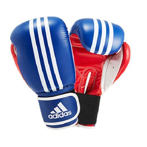 Adidas ADIBT01SMU_BR Response Boks Eldiveni Mavi Kırmızı Beyaz