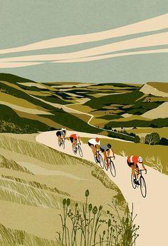 The Cyclist's Bucket List Journal ‹ Eliza Southwood – Illustrator