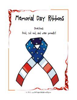 Free Memorial Day Printables Pack