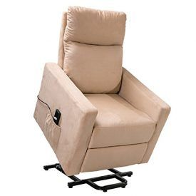Description: This Merax power lift recliner is incredibly sturdy and well-built. it offers a power lift function, ideal for elderly individuals who have difficulty standing from a sitting position. Not only does the soft suede fabric leather seat cushion and firm backrest provide excellent comfort and support, the power mechanism makes it easy to go […]