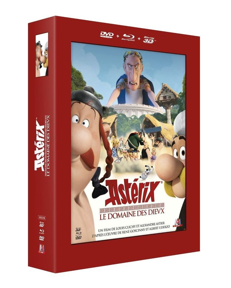 Astérix - Le Domaine des Dieux  Combo Blu-ray 3D + Blu-ray  en Blu-ray 3D - NEUF
