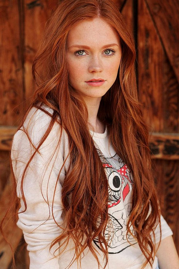 Ginger Hair And Grey Blue Eyes: Character Inspiration