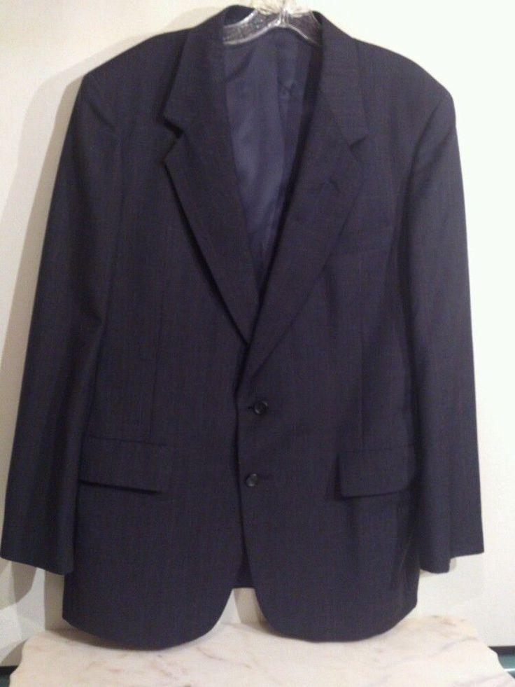 Men's gray suit by Oakton Ltd. Size 42 R 36 W. two button