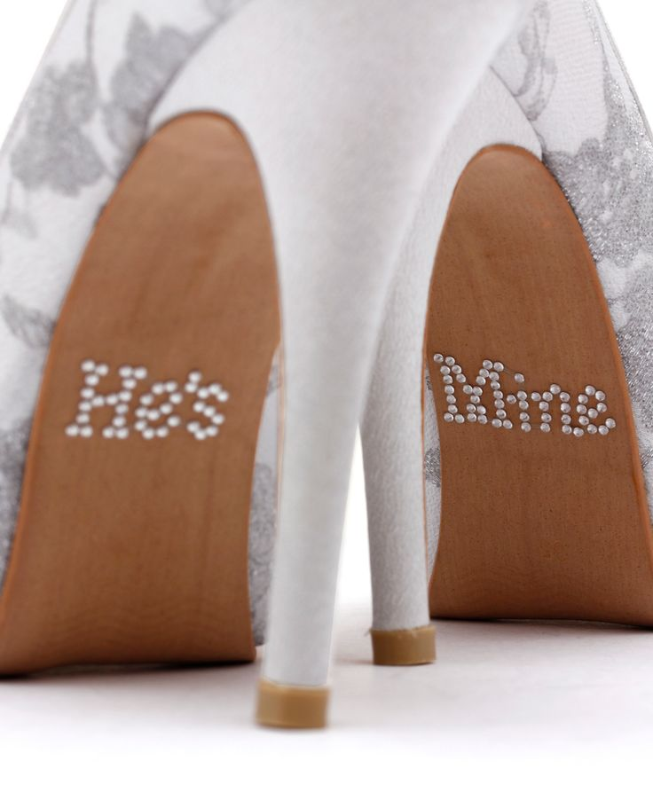 He S Mine Wedding Shoe Sole Adhesives For Them Online At Christyng Here
