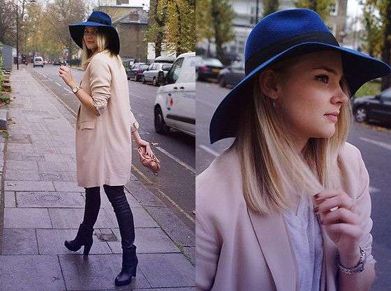By Malene Birger Coat, By Malene Birger Leather Leggings, &Other Stories Black Leather Booties, &Other Stories Hat