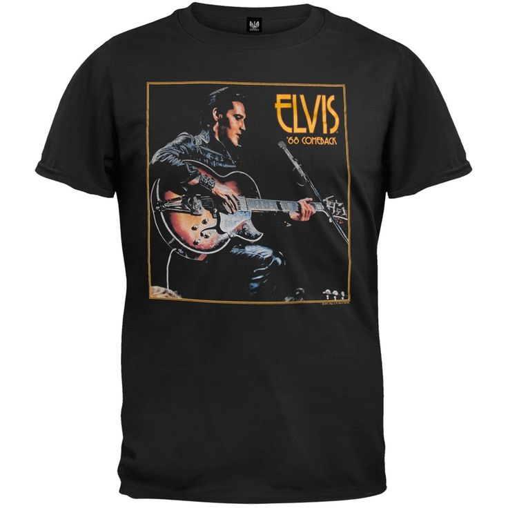 Elvis Presley - 68 Comeback T-Shirt