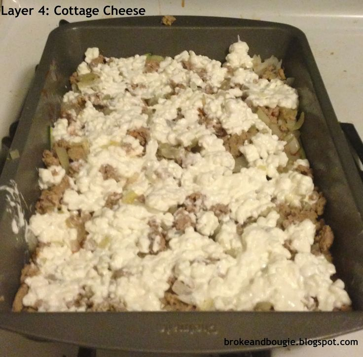 Broke and Bougie: 7 Layer Clean Eating Lasagna {Made with Zucchini instead of Pasta}