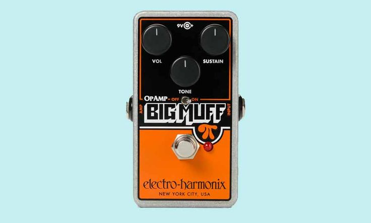 The Op-Amp Big Muff Pi reissue has been revealed by EHX. They teamed up with Billy Corgan to capture richly harmonic fuzz of Siamese Dream.