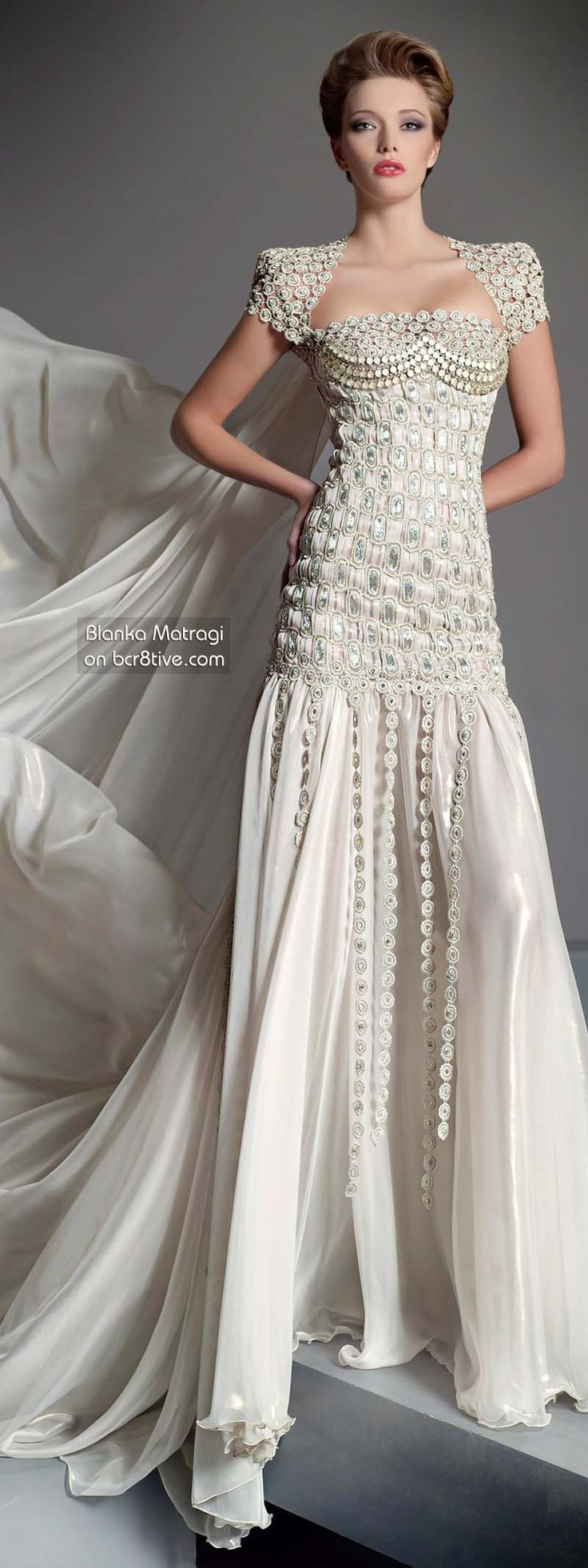 Blanka Matragi 30th Anniversary Couture Collection on bcr8tive.com - Wedding Dress