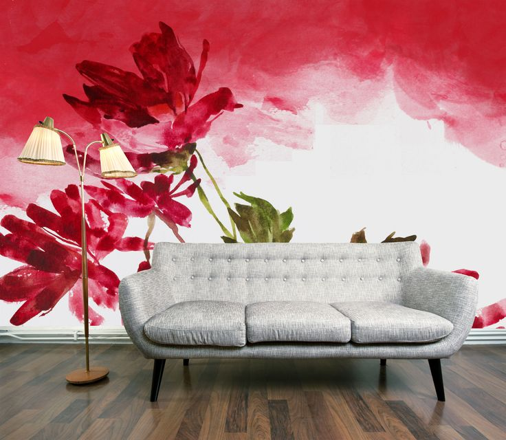 Watercolour Florals - Hot Interior trend for summer 2011 | DigetexHOME