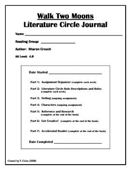 Literature Circles: Getting Started