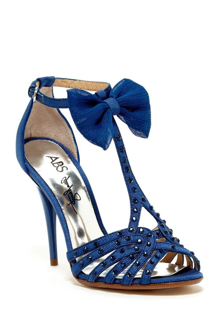 T-Strap Jeweled Heels ♥
