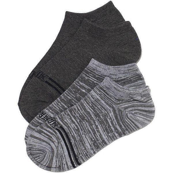 Victoria's Secret PINK Ankle Socks Set (12 CAD) ❤ liked on Polyvore featuring intimates, hosiery, socks, meias, victoria's secret, ankle socks, tennis socks, striped socks, short socks and low cut socks