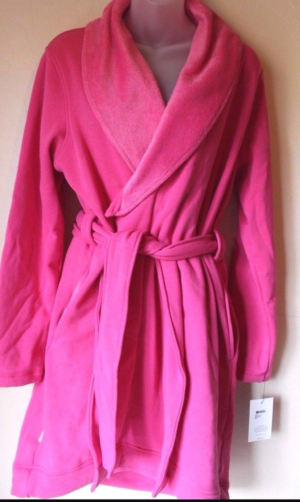 UGG Australia Blanche Women's Robe Pink Size Large - Brand NEW #UGGAustralia #Robes