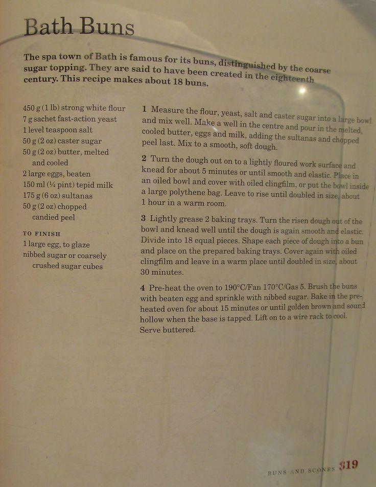 Mary Berry's Bath Buns Recipe