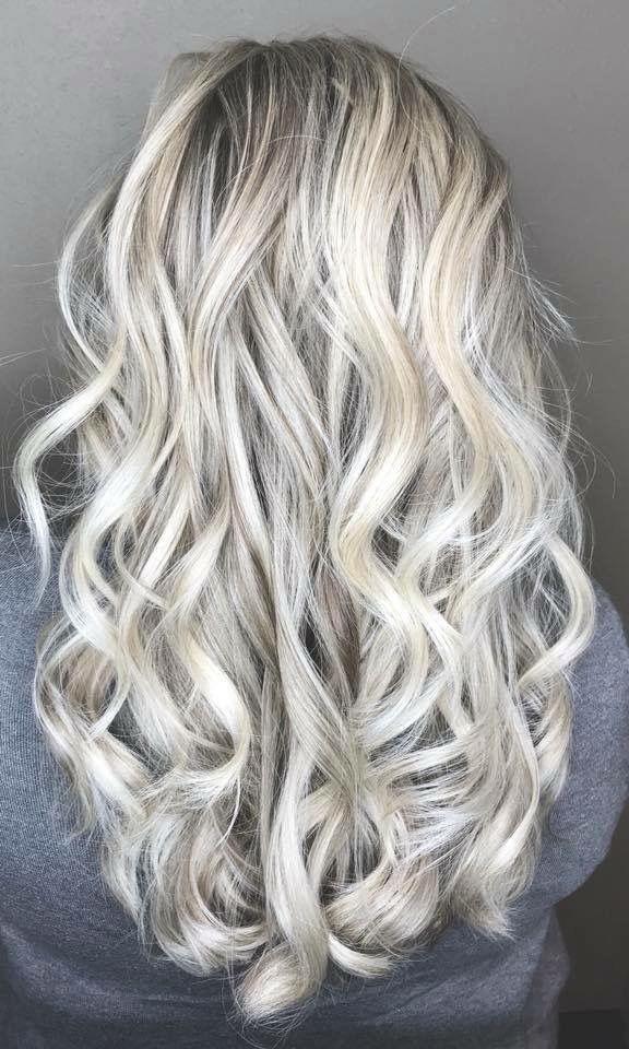 Summer Frost Blonde Hair Modern Salon Long Hair Styles Hair