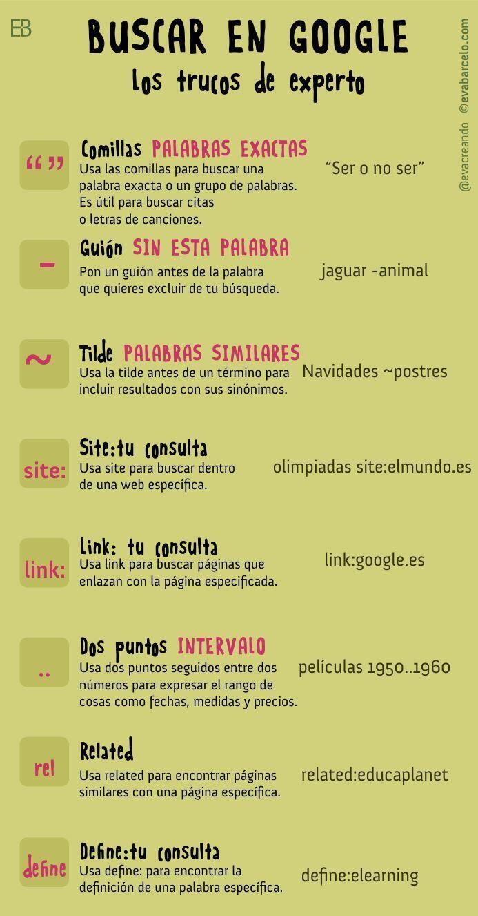 Aprende a buscar en Google. Algunos trucos: pic.twitter.com/RkMpzV0j5x