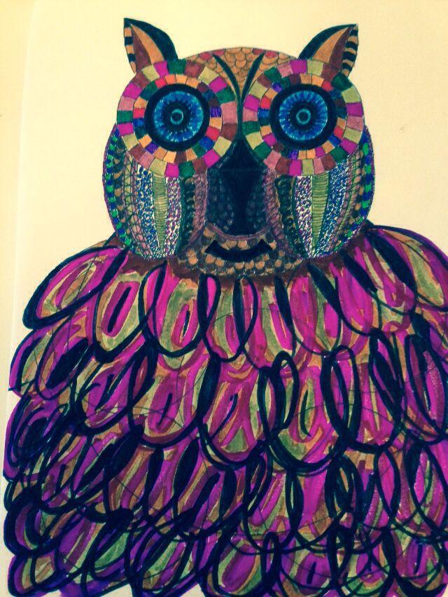 Şişko süslü baykuş