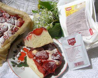 W Mojej Kuchni Lubię.. : bezglutenowe ciasto drożdżowe z truskawkami...