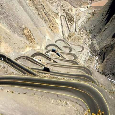 Now that's a road! Caracoles de Mendoza a Chile
