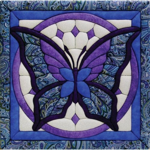 Quilt Magic 12-Inch by 12-Inch Butterfly Kit, 11.75 by Quilt Magic, Make a unique quilted wall hanging to decorate any room in the house.   http://www.amazon.ca/gp/product/B004C6DR5I/ref=cm_sw_r_pi_alp_WeeKrb01Y58QX