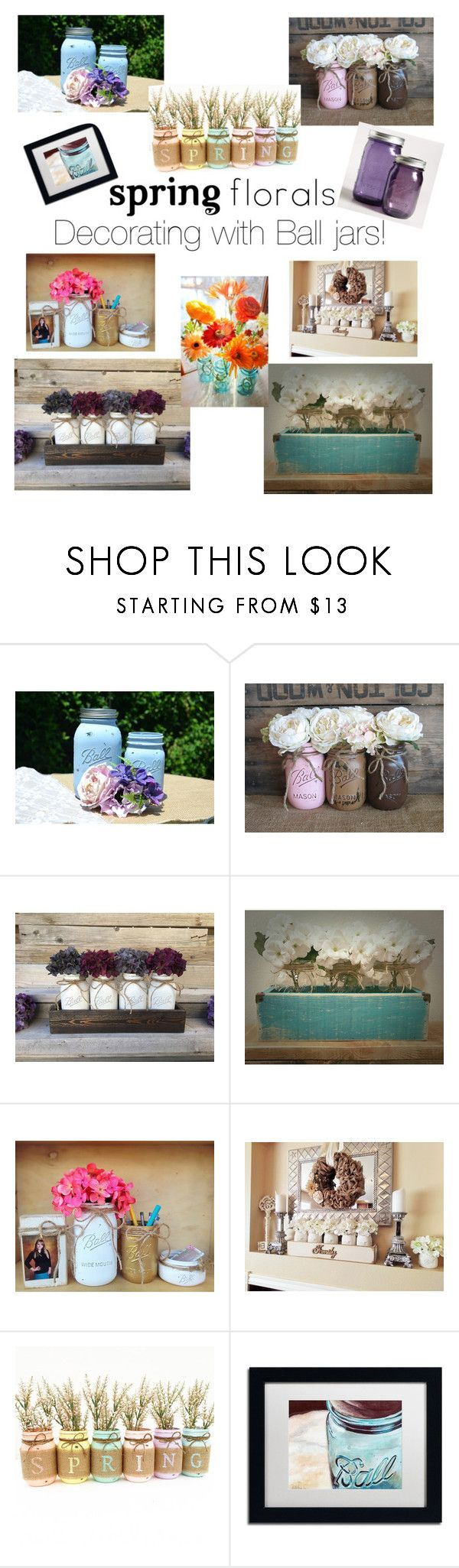 """""""Have a Ball!"""" by shawnseepk ❤ liked on Polyvore featuring interior, interiors, interior design, home, home decor, interior decorating, Trademark Fine Art, Cost Plus World Market and springflorals"""